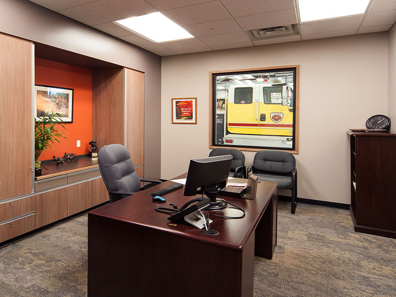 Featured Project. Lockwood Fire Station