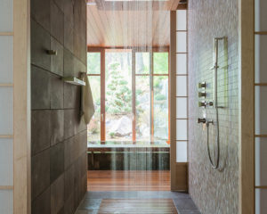 Poolhouse Shower