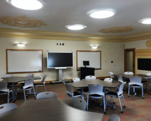 Main Hall Classroom, UM-Western, Improvements by Richard M. Shanahan Architects, Inc